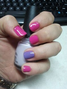 OPI Kiss Me on My Tulips  OPI A Grape Fit