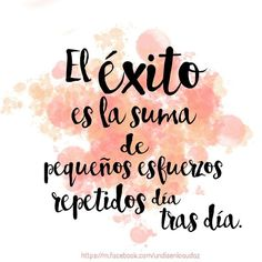 Estados para Whatsapp y frases cortas de la vida Positive Phrases, Motivational Phrases, Positive Quotes, Positive Motivation, Daily Motivation, Fitness Motivation, Mr Wonderful, More Than Words, Spanish Quotes