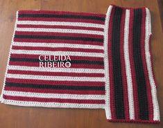 Blusa em crochê com estampa Étnica.  Estampa que será usada na próxima estação, vi essas cores em um site de uma marca famosa ( M R) gostei...
