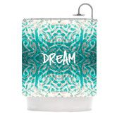 Found it at AllModern - <strong>KESS InHouse</strong> Tattooed Dreams Polyester Shower Curtainhttp://www.allmodern.com/KESS-InHouse-Tattooed-Dreams-Polyester-Shower-Curtain-CT2005ASC01-QSUN1767.html?refid=SBP