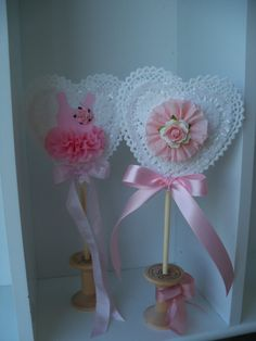 Custom Decorative Birthday Party Wand and Valentine Decoration
