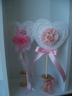 Custom Decorative Birthday Party Wand and Valentine Decoration