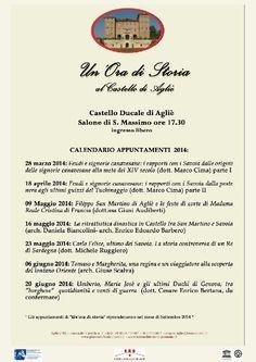 Castello Ducale di Agliè- UnOra di Storia - Tumit Eventi