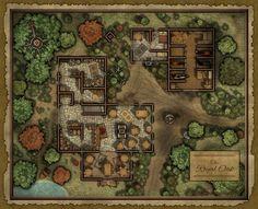 Bauernhofkarte