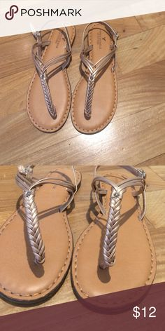 American Eagle Braided Sandals New American Eagle Sandals. Never worn. American Eagle Outfitters Shoes Sandals