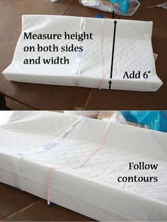 Runs With Spatulas: Crafty Fridays: How to make a Changing Pad Cover