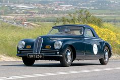 An extremely rare Pinin Farina bodied Bristol 400 from 1947 was entered by David Cohen of Canada.