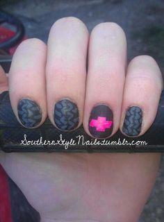 chevy nail designs | chevy nails | Chevy nails!! Truck yeah!