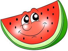 If you have grown up in just about any state in the US - you know, one of summertime's favorite treats is Watermelon! Funny Fruit, Cute Fruit, Deco Fruit, Vegetable Cartoon, Happy Fruit, Fruit Coloring Pages, Decorate Notebook, Cute Clipart, Cute Cartoon Wallpapers