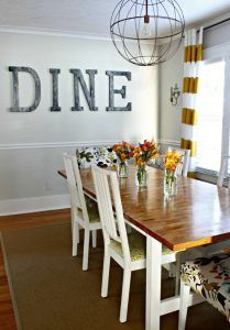 Ikea Dining room table hack