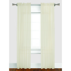 """Set of 2 Sheer Curtains - Length 84"""" - GREAT VALUE EVERYDAY! - Bouclair Home"""