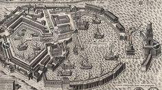 Plan of the seaport Ostia Antica