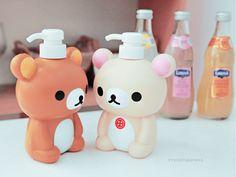 Rilakkuma soap bottle