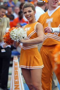 Heres a look at our favorite college cheerleaders from week 3 of the 2017 football season. College Cheerleading, Cheerleading Uniforms, Football Cheerleaders, College Football, Cheer Uniforms, Cheerleader Images, Cheerleader Costume, Cheerleading Pictures, Volleyball Pictures