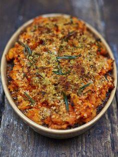 Vegan Shepherds Pie   Vegetables Recipes   Jamie Oliver - skip the breadcrumbs on top for gluten-free