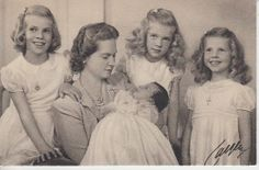 Princess Sibylla of Sweden Her Daughters
