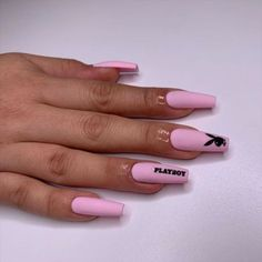 long nails Best Acrylic Nail Designs these ideas will have you totally obsess for more, Cute pink nails, acrylic nail art designs Drip Nails, Aycrlic Nails, Swag Nails, Nail Manicure, Cute Pink Nails, Pretty Nails, Long Cute Nails, Bunny Nails, Graduation Nails