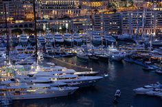 Luxury Superyachts At The Monaco Yacht Show