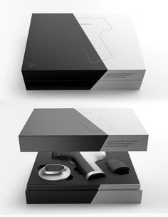 Hoyo drill on behance packing design фирменный дизайн, дизай Cool Packaging, Wine Packaging, Luxury Packaging, Brand Packaging, Packaging Design, Product Packaging, Electronics Projects, Diy Electronics, Iphone 5c