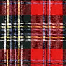 MacLean Tartan - Duart Red Modern Tartan