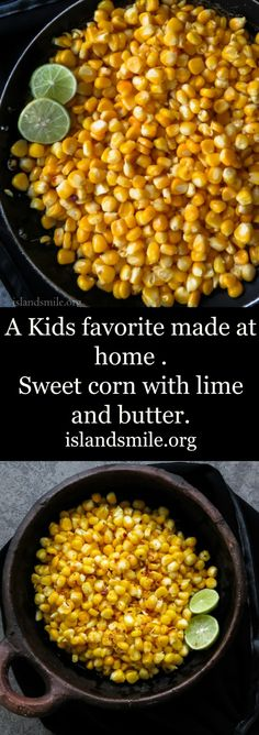 ... corn with lime butter and a tiny amount of sweetness should be just