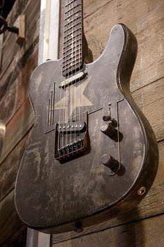 Trussart Guitar by r o s e n d a h l, via Flickr