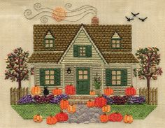 Secret Garden Collection - Harvest Moon House, Laura Perin