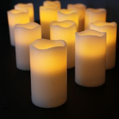 Flameless Candles With Remote Costco Costco 11Pack Flameless Led Candle Variety Pack  I Want As A