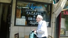 Falafel place, Philly