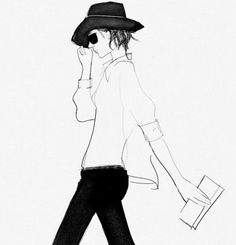 black french fashion illustrations | LESSON IN FRENCH FASHION | Les Assorties