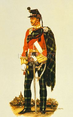 The Highland Light Infantry by A.E. Haswell Miller