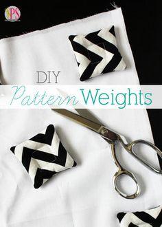DIY Pattern Weights