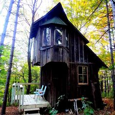 Zinta Aistars loves tiny homes and as she explains here and on Tiny House Blog,she moved into a hundred and something year old farmhouse in southwest Michigan complete withtenbeautiful acres and a cute little cottage on the hill. Zinta's a writer andfinds the rustic little cottage a delight to her senses and her need for ameditative retreat.