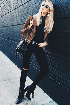 Street chic. More