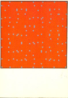 Larry Poons - Orange Crush