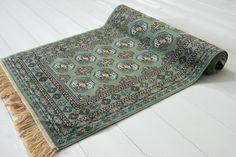 Bokhara Silk grøn 67x105 - Orientalske tæpper - Løse tæpper | Ruugs™