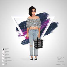 Tenue créée par Noor en utilisant les vêtements de French Connection, Moda Operandi, New Look, Forever 21, Vans, Landsend. Look fait sur Trendage.