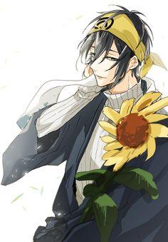 Mikazuki | Touken Ranbu Hot Anime Guys, Anime Love, Manga Art, Anime Art, Touken Ranbu Mikazuki, Mutsunokami Yoshiyuki, Touken Ranbu Characters, Boy Images, Drawings