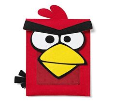 Angry Birds Felt iPad Case - This is sooo adorable! Will certainly perk up my day.