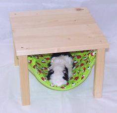 Kleintiere - Hängemattengestell und Hängematte Set, Marienkäfer - ein Designerstück von lazzyy bei DaWanda