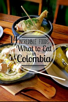 From ajiaco to arepas, from cherimoya to mamancillo ... Colombian food is incredibly good. Find out what to eat in Colombia! The 14 best fruits, meat, street food, and soup in Colombia.