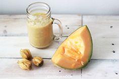 Smoothiet ovat helppo, herkullinen ja terveellinen vaihtoehto :) Cantaloupe, Fruit, Health, Food, Health Care, The Fruit, Meals, Salud, Yemek