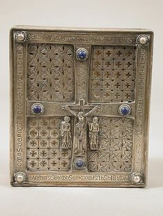 """""""Book of Dimma"""" Shrine early 20th century (original dated 11th century) The Metropolitan Museum of Art"""