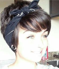 I want to be able to do this with short hair!!!!