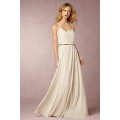 Anthropologie Nadya Wedding Guest Dress ($240) ❤ liked on Polyvore featuring dresses, ivory, creme dresses, anthropologie dresses, cream dress, pink scalloped dress and anthropologie