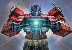 Amazing Optimus Prime Artwork