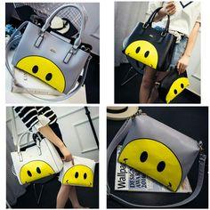 Tas Fashion Smile 6715 30x10x26 200rb