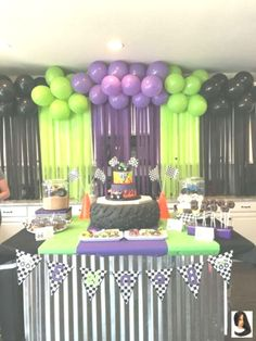 #Birthday #Digger #Exotic Cars birthday party #Grave #Party Grave Digger Birthday Party Grave Digger Birthday Party