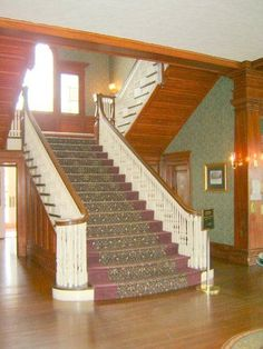 Main Staircase, Lobby of The Stanley Hotel