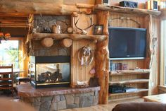 Roaring River Ranch Log House